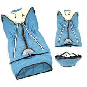 Sac de iarna Skutt LUX 3 in 1 lana 100x45 cm Blue