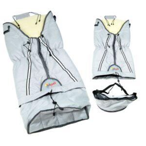 Sac de iarna Skutt LUX 3 in 1 lana 100x45 cm Grey