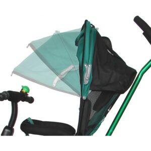 tricicleta skutt agilis cu capotina si maner W