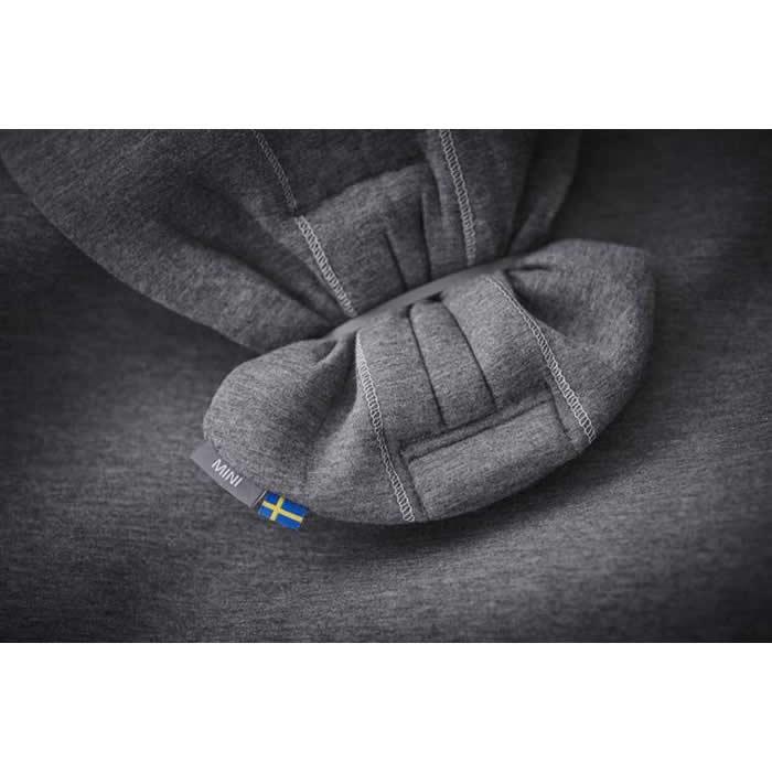 BabyBjorn Marsupiu anatomic Mini Dark Grey 3D Jersey 9