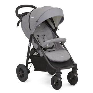 Carucior Joie Litetrax 4 AIR Gray Flannel