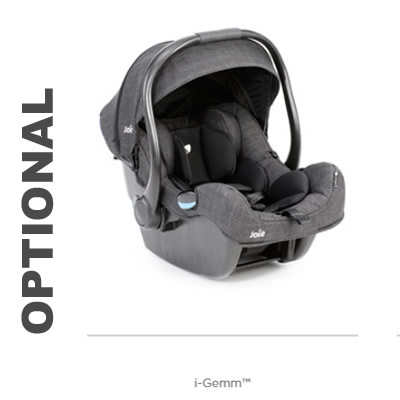 Carucior Joie Litetrax 4 Air Gray Flannel 6