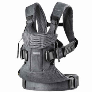 Marsupiu anatomic BabyBjorn One Air - Anthracite 3D Mesh