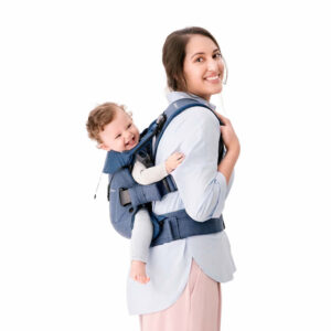 babybjorn marsupiu one denim midnight blue bumbac 1