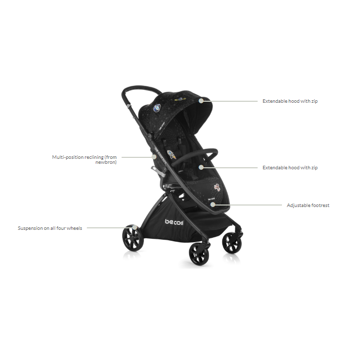 carucior sport copii be cool by jane light z 5