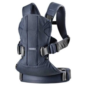 Marsupiu anatomic BabyBjorn One Air - Navy Blue 3D Mesh