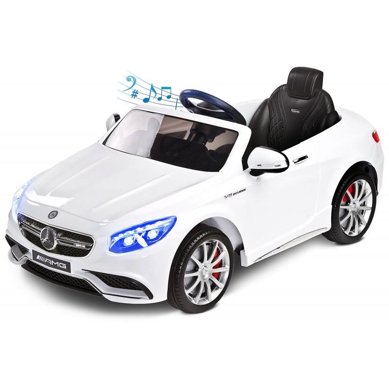 Toyz MERCEDES-BENZ S63 AMG 12V White