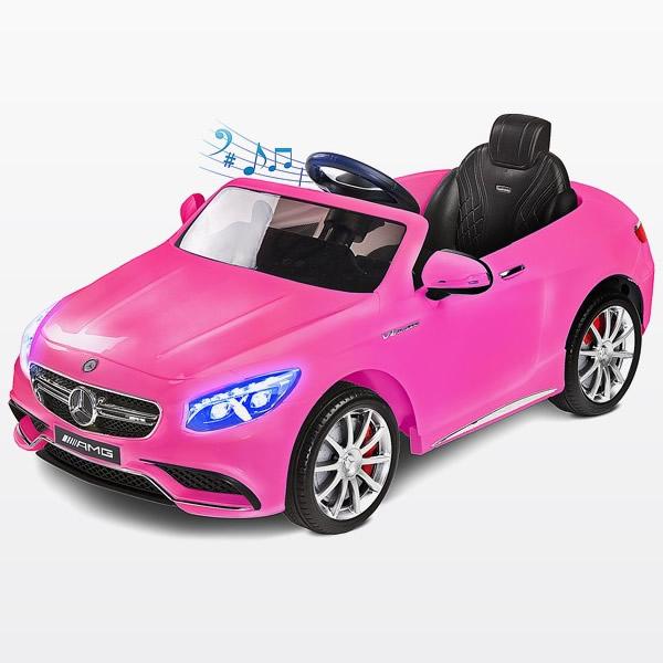 toyz mercedes-benz s63 amg 12v pink