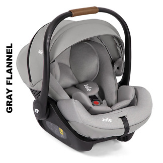 Scoica auto inclinabila I-Size Joie I-Level LX si baza isofix i-Base Gray Flannel