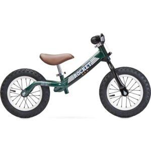 bicicleta fara pedale toyz rocket green verde 1