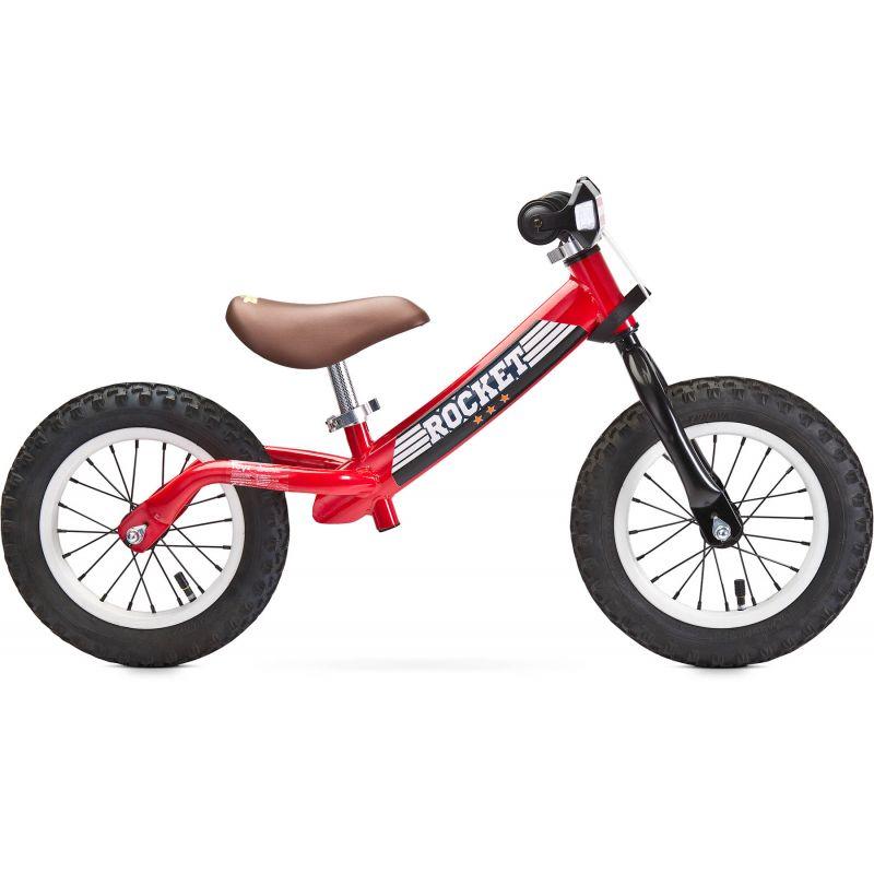 bicicleta fara pedale toyz rocket red rosie 1