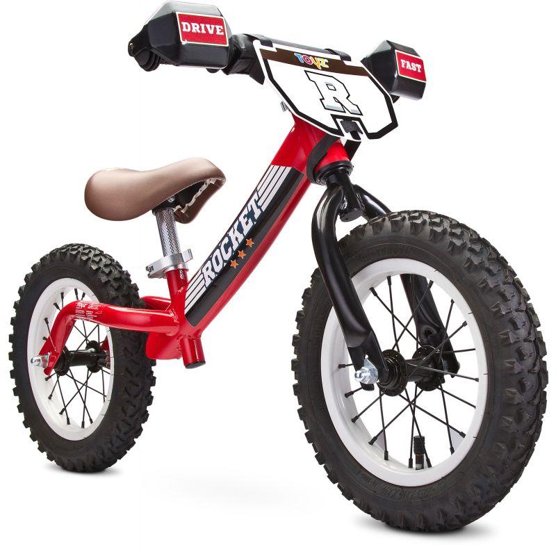 bicicleta fara pedale toyz rocket red rosie 2
