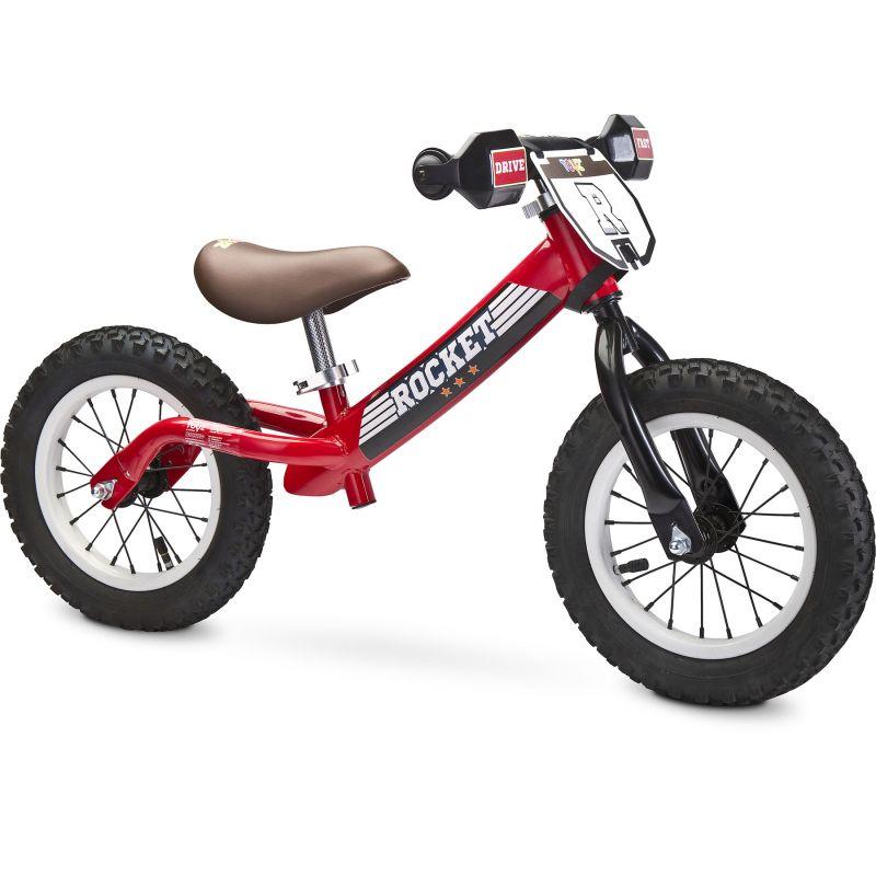 Bicicleta fara pedale Toyz ROCKET Red