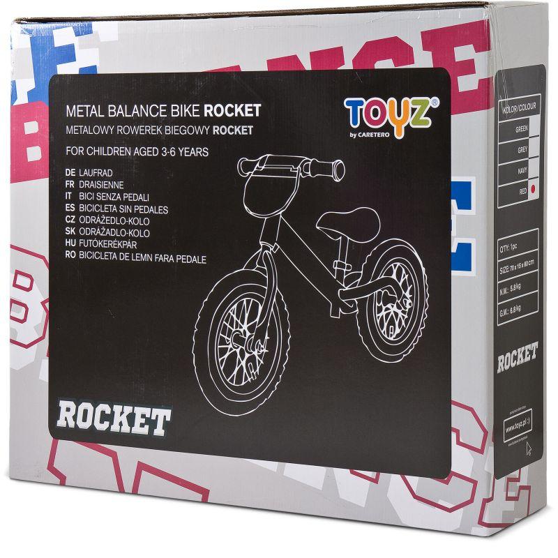 bicicleta fara pedale toyz rocket z 3