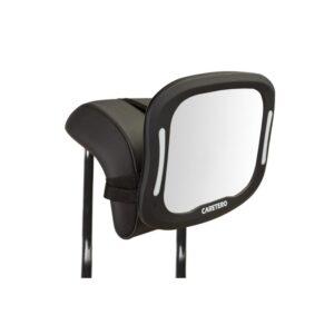 oglinda cu lumini led si telecomanda pentru observarea copilului caretero led xl 1