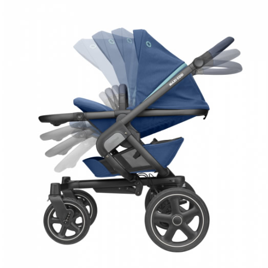 Pachet carucior Nova 4 Maxi Cosi 3 in 1 essential blue 10