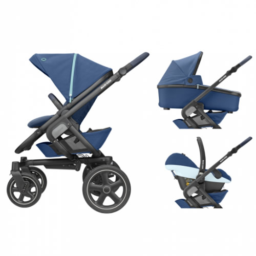 Pachet carucior Nova 4 Maxi Cosi 3 in 1 essential blue 7