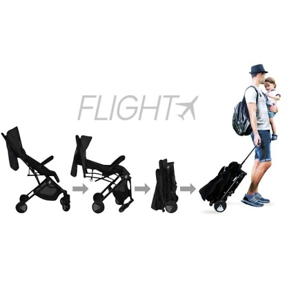 carucior de calatorie troller ultracompact asalvo flight travel z 2