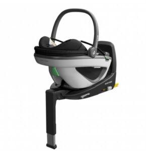 Pachet Cos auto Maxi-Cosi Coral i-Size Essential Black si baza FamilyFix3