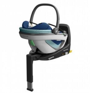 Pachet Cos auto Maxi-Cosi Coral i-Size Essential Blue si baza FamilyFix3