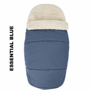Salopeta de iarna Footmuff 2 in 1 Maxi Cosi Essential Blue