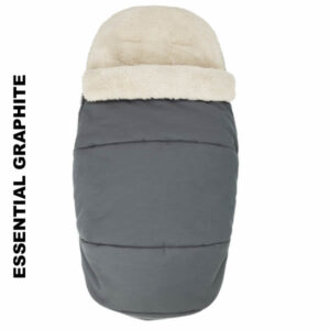 Salopeta de iarna Footmuff 2 in 1 Maxi Cosi Essential Graphite