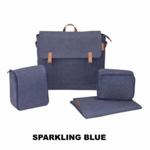Geanta carucior Maxi-Cosi Sparkling Blue