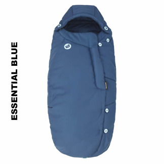 Salopeta de iarna General Footmuff Maxi Cosi Essential Blue