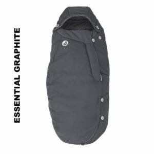 Salopeta de iarna General Footmuff Maxi Cosi Essential Graphite