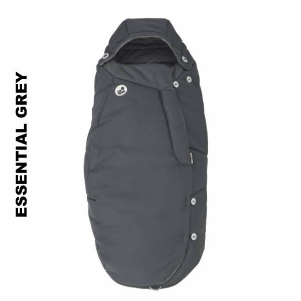 Salopeta de iarna General Footmuff Maxi Cosi Essential Grey