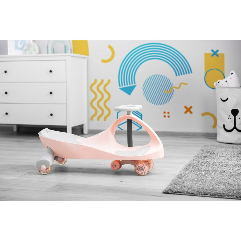 vehicul fara pedale toyz spinner pink 12