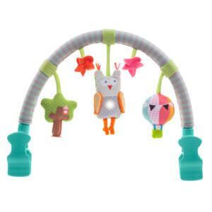 Jucarie carucior Arcada muzicala Bufnita Taf Toys