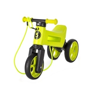 bicicleta fara pedale funny wheels supersport 2 in 1 lime