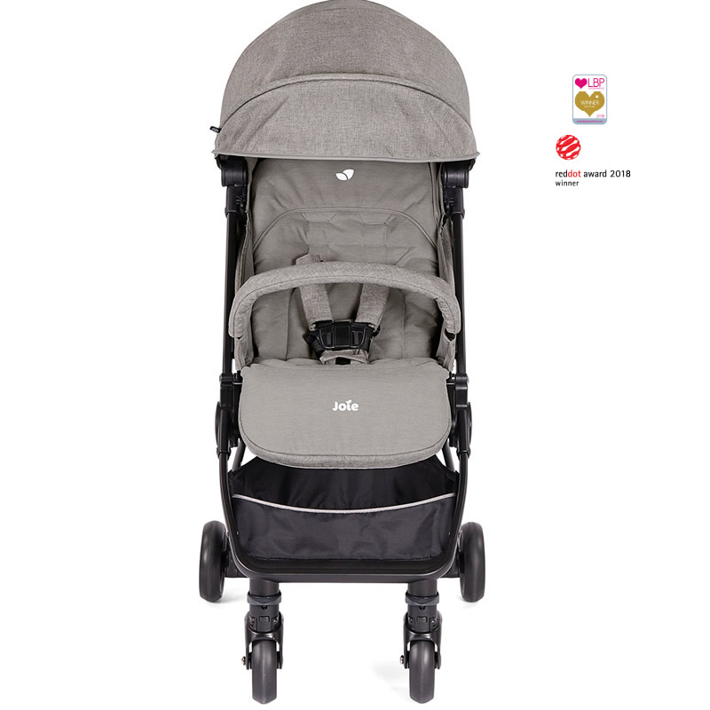 carucior ultracompact joie pact gray flannel 4