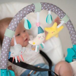 jucarie carucior arcada mini moon taf toys