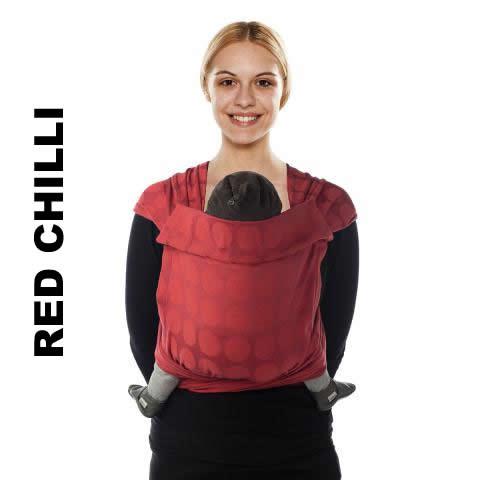 Sistem de purtare Babylonia MeiTai Jacquard BB-Tai Red Chilli