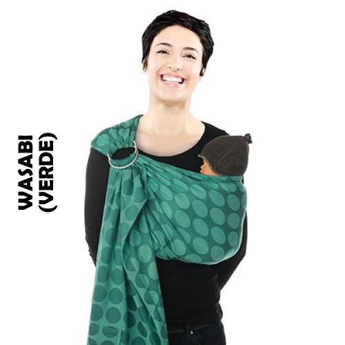 Sistem de purtare sling cu inel Jacquard Babylonia BB-Sling Wasabi
