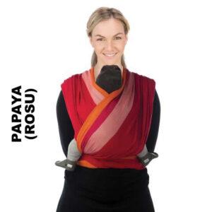 Sistem de purtare wrap tesut Babylonia Trend BB-Slen 490 cm Papaya