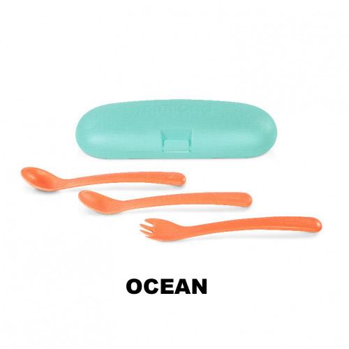 set tacamuri ergonomice pentru copii miniland ocean