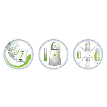 Incalzitor Portabil Pentru Biberon New Generation 2 In 1 Babymoov 4