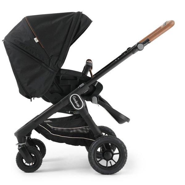 carucior emmaljunga nxt60 flat outdoor air sasiu negru Outdoor Eco Black