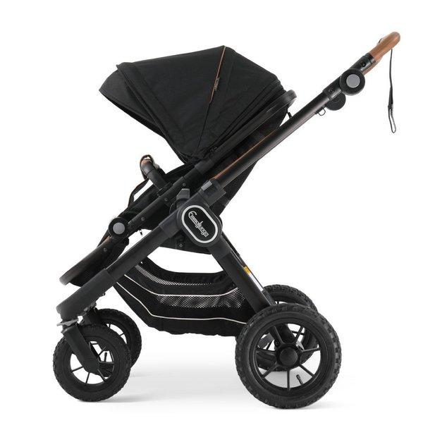 carucior emmaljunga nxt90 ergo outdoor air sasiu negru Eco Black 1