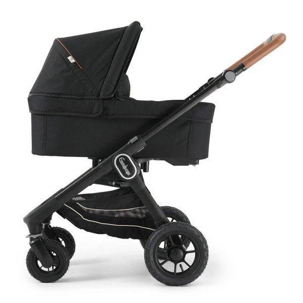 pachet carucior 3 in 1 emmaljunga nxt60 Ergo Outdoor Eco Black 1