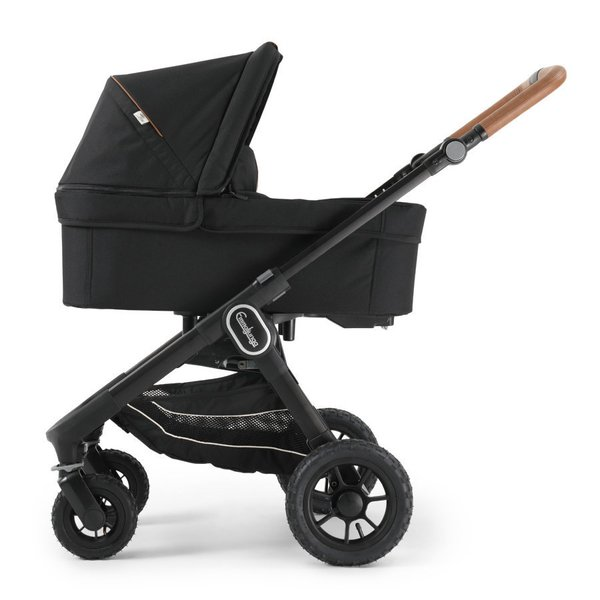 pachet carucior emmaljunga 3 in 1 nxt60 flat outdoor air Eco Black 1