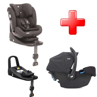Pachet Joie Stages isofix si scoica Joie i-Snug