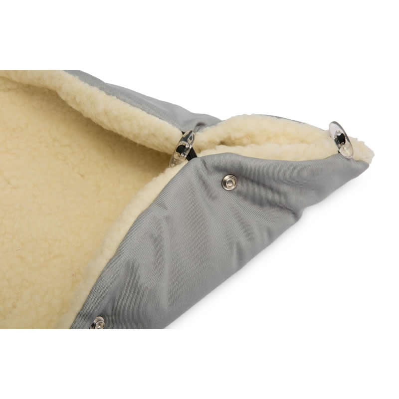 sac de iarna sensillo eskimo lana 100x46 cm gri 2