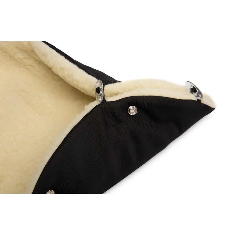 sac de iarna sensillo eskimo lana 100x46 cm negru 2