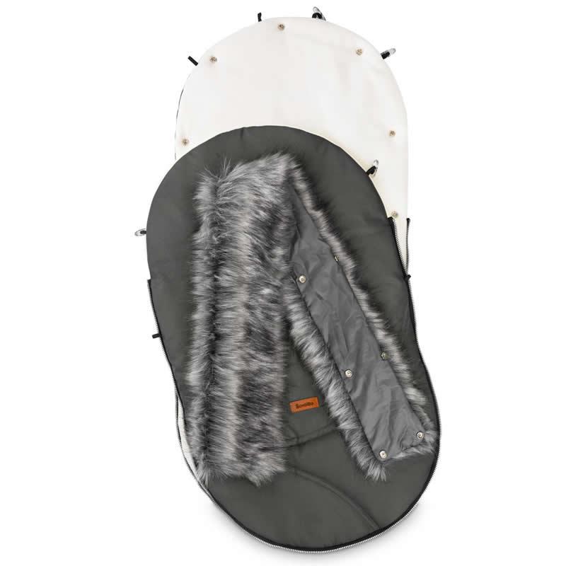 sac de iarna sensillo eskimo polar 100x46 cm graphite 1