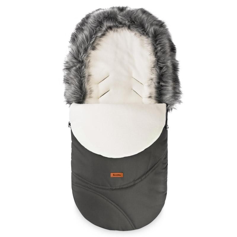 sac de iarna sensillo eskimo polar 100x46 cm graphite