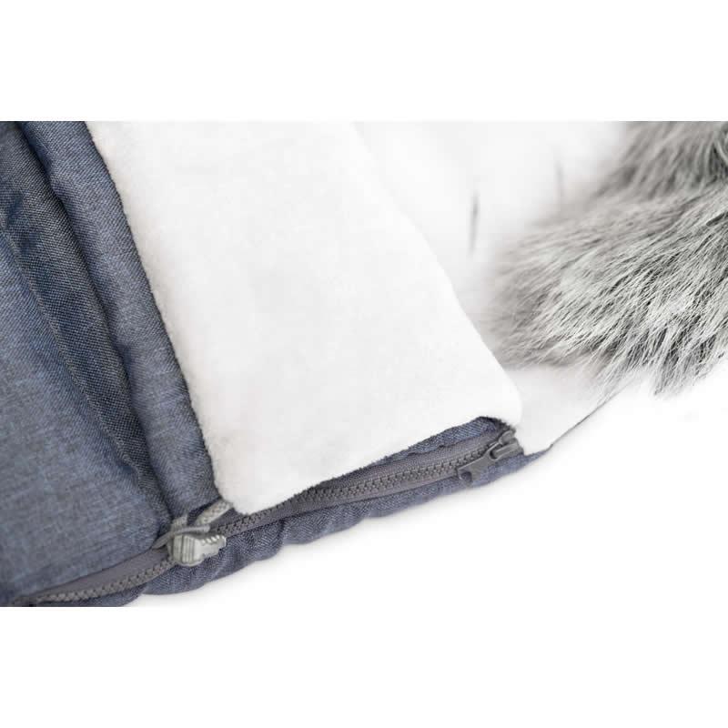 sac de iarna sensillo indiana fleece 100x50 cm navy 2